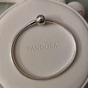 Pandora bracelet size 19 (7.5 inches)